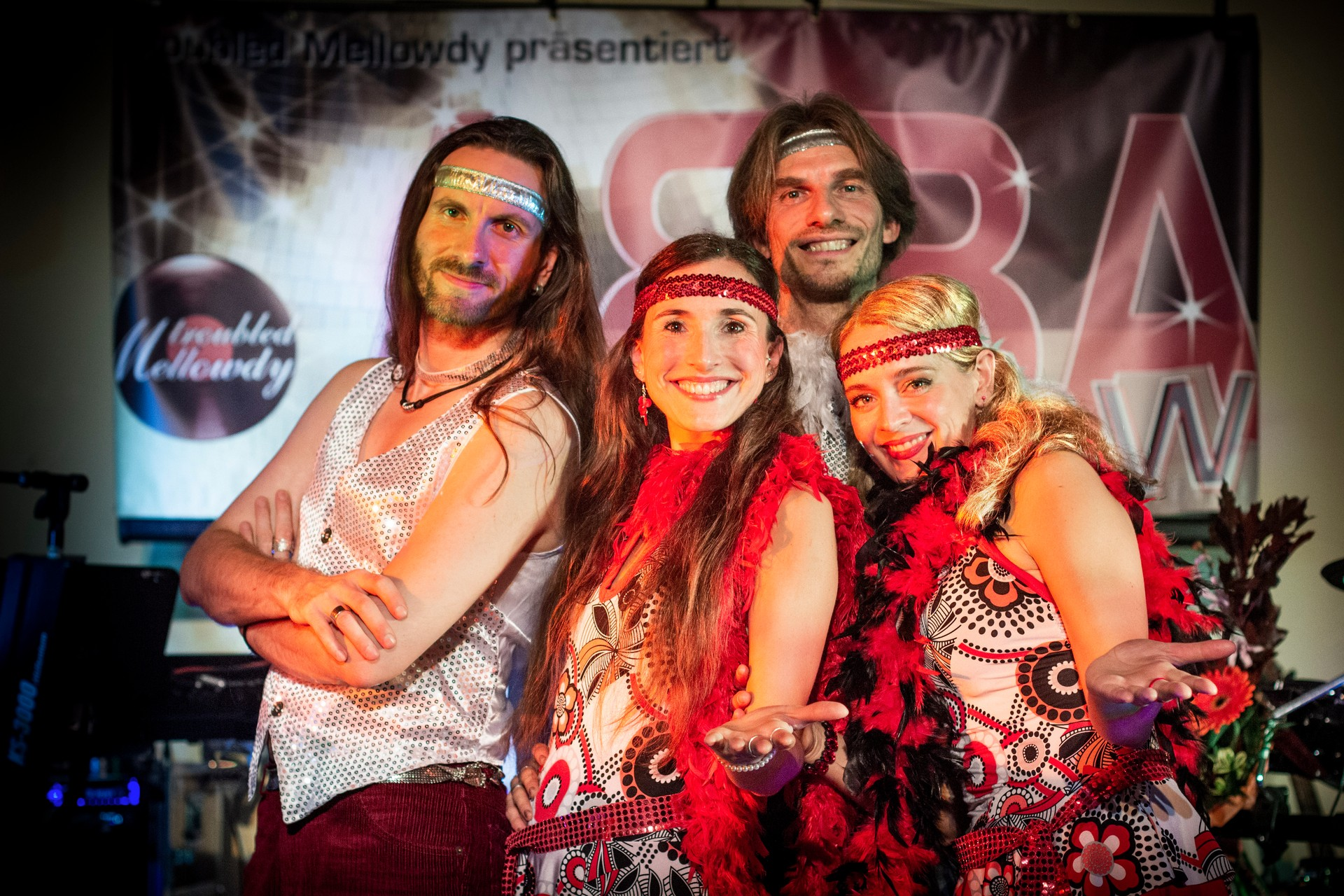 ABBA und 70ies Motto Party - Live